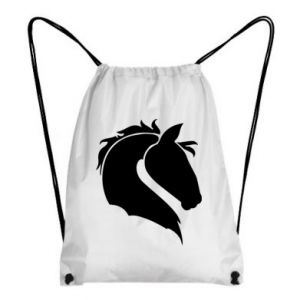 Backpack-bag Horse head