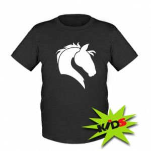 Kids T-shirt Horse head