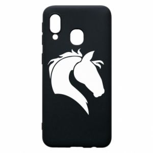 Phone case for Samsung A40 Horse head