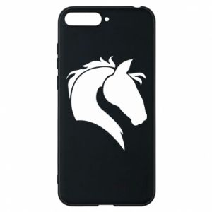 Phone case for Huawei Y6 2018 Horse head