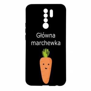 Etui na Xiaomi Redmi 9 Główna marchewka
