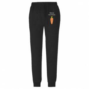 Spodnie lekkie męskie Główna marchewka