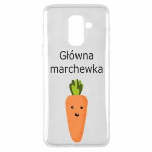 Phone case for Samsung A6+ 2018 Main carrot
