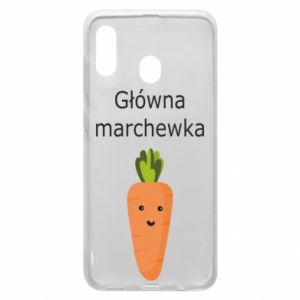 Phone case for Samsung A20 Main carrot