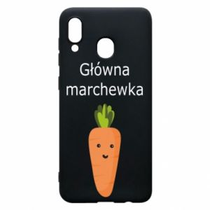 Phone case for Samsung A30 Main carrot
