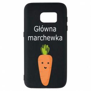 Etui na Samsung S7 Główna marchewka