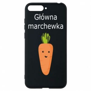 Phone case for Huawei Y6 2018 Main carrot - PrintSalon