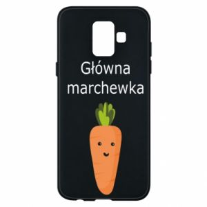 Phone case for Samsung A6 2018 Main carrot