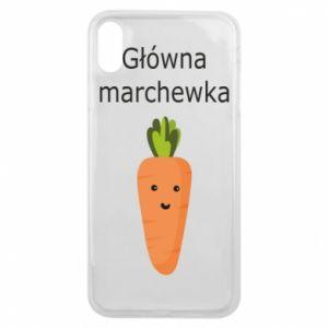 Etui na iPhone Xs Max Główna marchewka