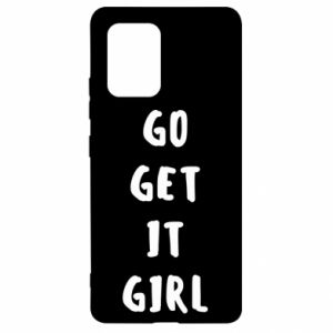 Etui na Samsung S10 Lite Go get it girl