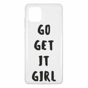 Etui na Samsung Note 10 Lite Go get it girl