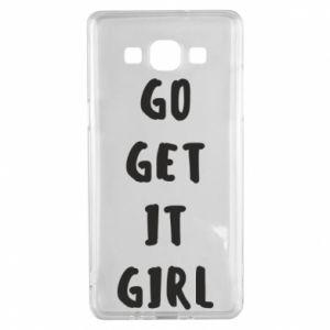 Etui na Samsung A5 2015 Go get it girl