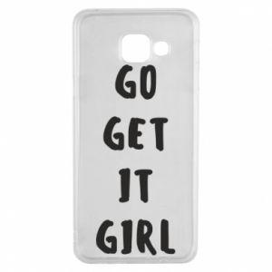 Etui na Samsung A3 2016 Go get it girl