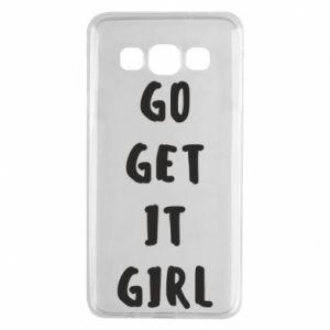 Etui na Samsung A3 2015 Go get it girl