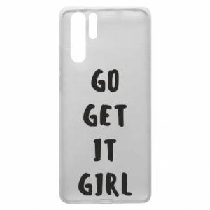 Etui na Huawei P30 Pro Go get it girl