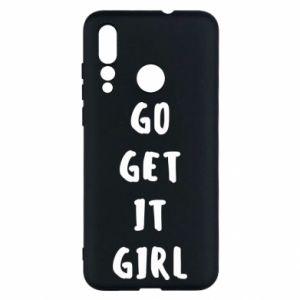 Etui na Huawei Nova 4 Go get it girl