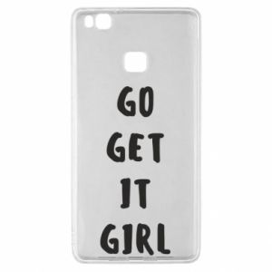 Etui na Huawei P9 Lite Go get it girl
