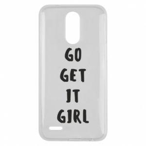Etui na Lg K10 2017 Go get it girl