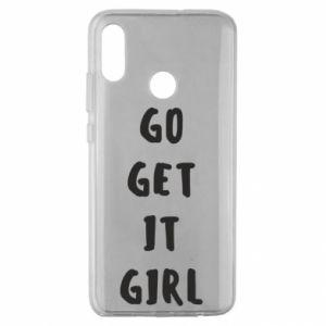 Etui na Huawei Honor 10 Lite Go get it girl