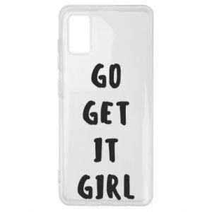 Etui na Samsung A41 Go get it girl