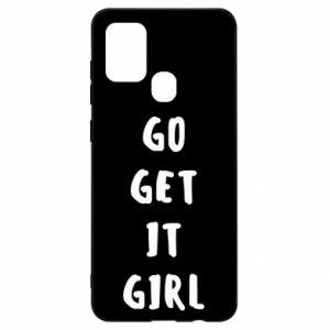 Etui na Samsung A21s Go get it girl