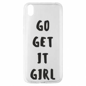 Etui na Huawei Y5 2019 Go get it girl