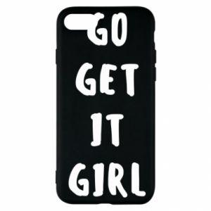 Etui na iPhone SE 2020 Go get it girl