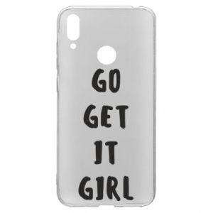Etui na Huawei Y7 2019 Go get it girl