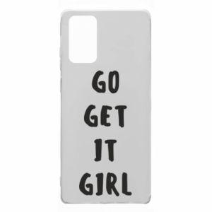 Etui na Samsung Note 20 Go get it girl