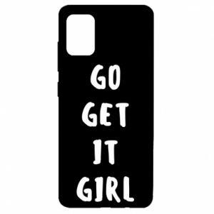 Etui na Samsung A51 Go get it girl