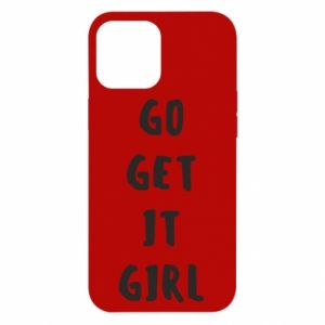 Etui na iPhone 12 Pro Max Go get it girl