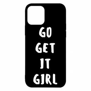 Etui na iPhone 12/12 Pro Go get it girl