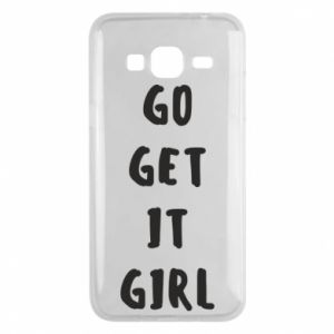 Etui na Samsung J3 2016 Go get it girl