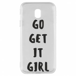 Etui na Samsung J3 2017 Go get it girl