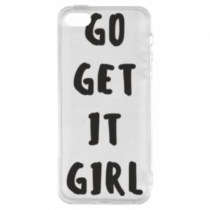 Etui na iPhone 5/5S/SE Go get it girl