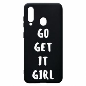 Etui na Samsung A60 Go get it girl