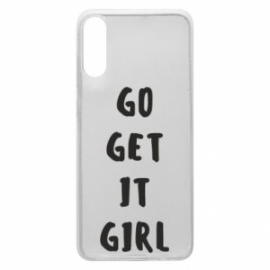 Etui na Samsung A70 Go get it girl