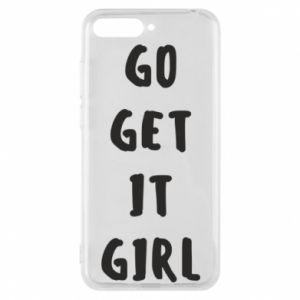 Etui na Huawei Y6 2018 Go get it girl