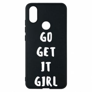 Etui na Xiaomi Mi A2 Go get it girl