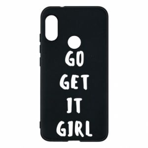 Etui na Mi A2 Lite Go get it girl