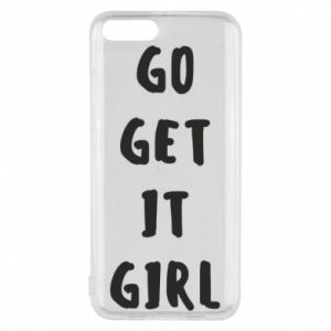 Etui na Xiaomi Mi6 Go get it girl