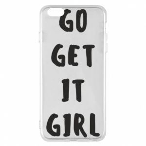 Etui na iPhone 6 Plus/6S Plus Go get it girl