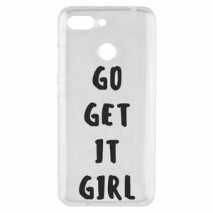 Etui na Xiaomi Redmi 6 Go get it girl