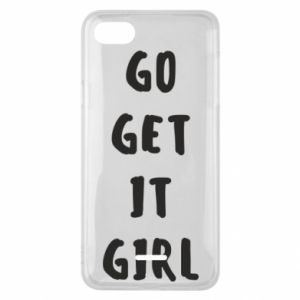 Etui na Xiaomi Redmi 6A Go get it girl