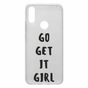 Etui na Xiaomi Redmi 7 Go get it girl