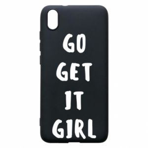 Etui na Xiaomi Redmi 7A Go get it girl