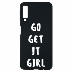 Etui na Samsung A7 2018 Go get it girl