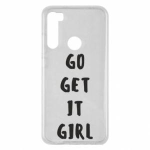 Etui na Xiaomi Redmi Note 8 Go get it girl