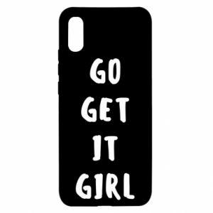 Etui na Xiaomi Redmi 9a Go get it girl