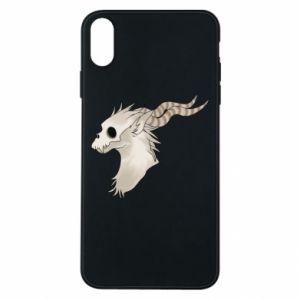 Etui na iPhone Xs Max Goat skull